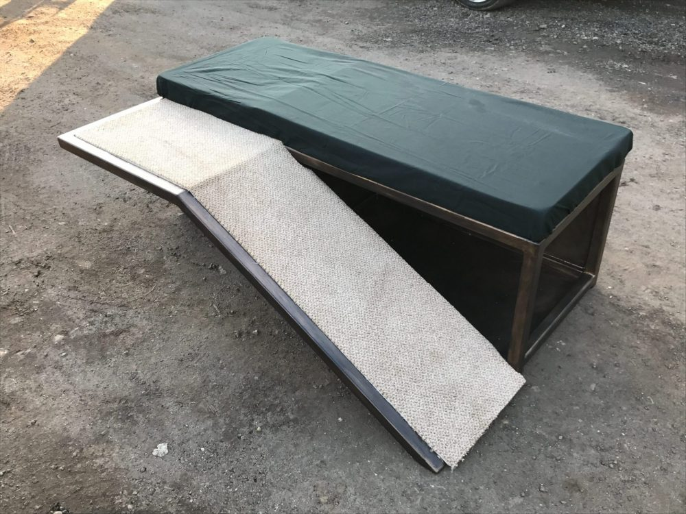 Dog Bed With Ramp
