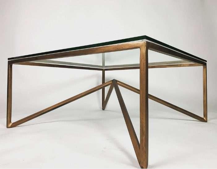 Leg Of Bronze Table