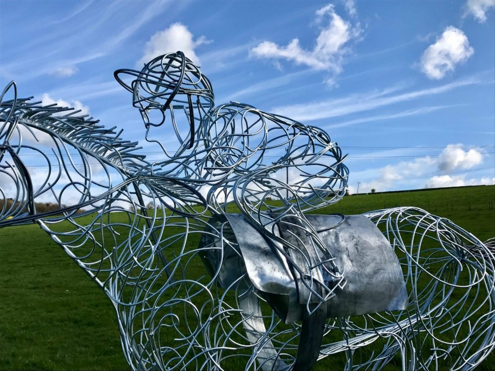 Horse and Jokey Design Jockey Image