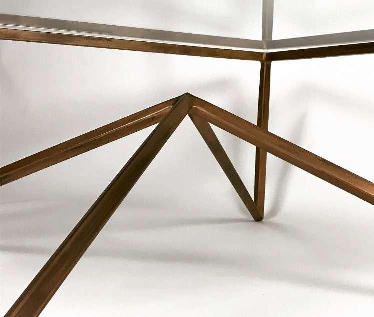 Feet Of Bronze Table