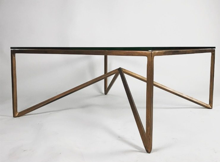 Side Of Bronze Table