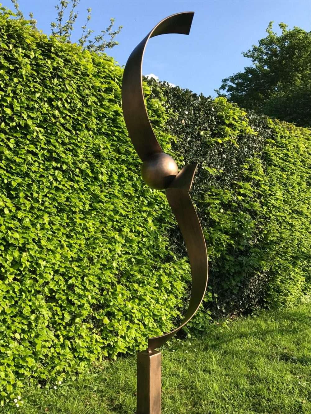 Spiral Structure In A Garden