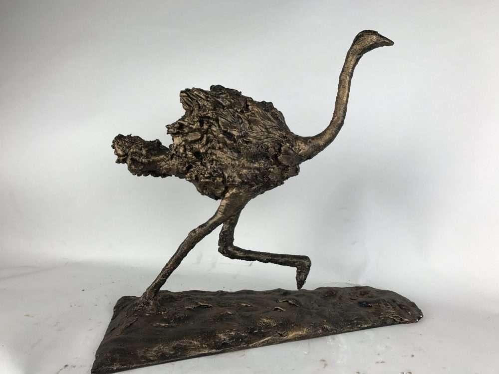 Bronze Rustic Ostrich