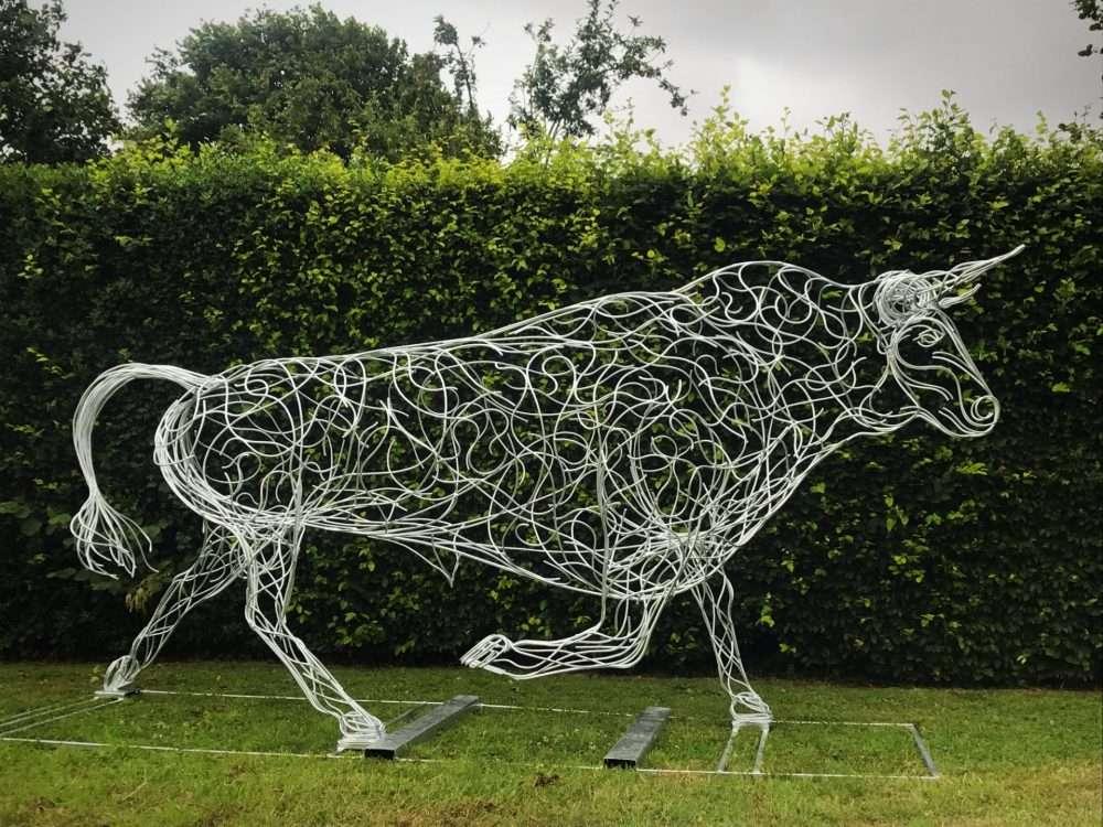 Large Bull Sculpture
