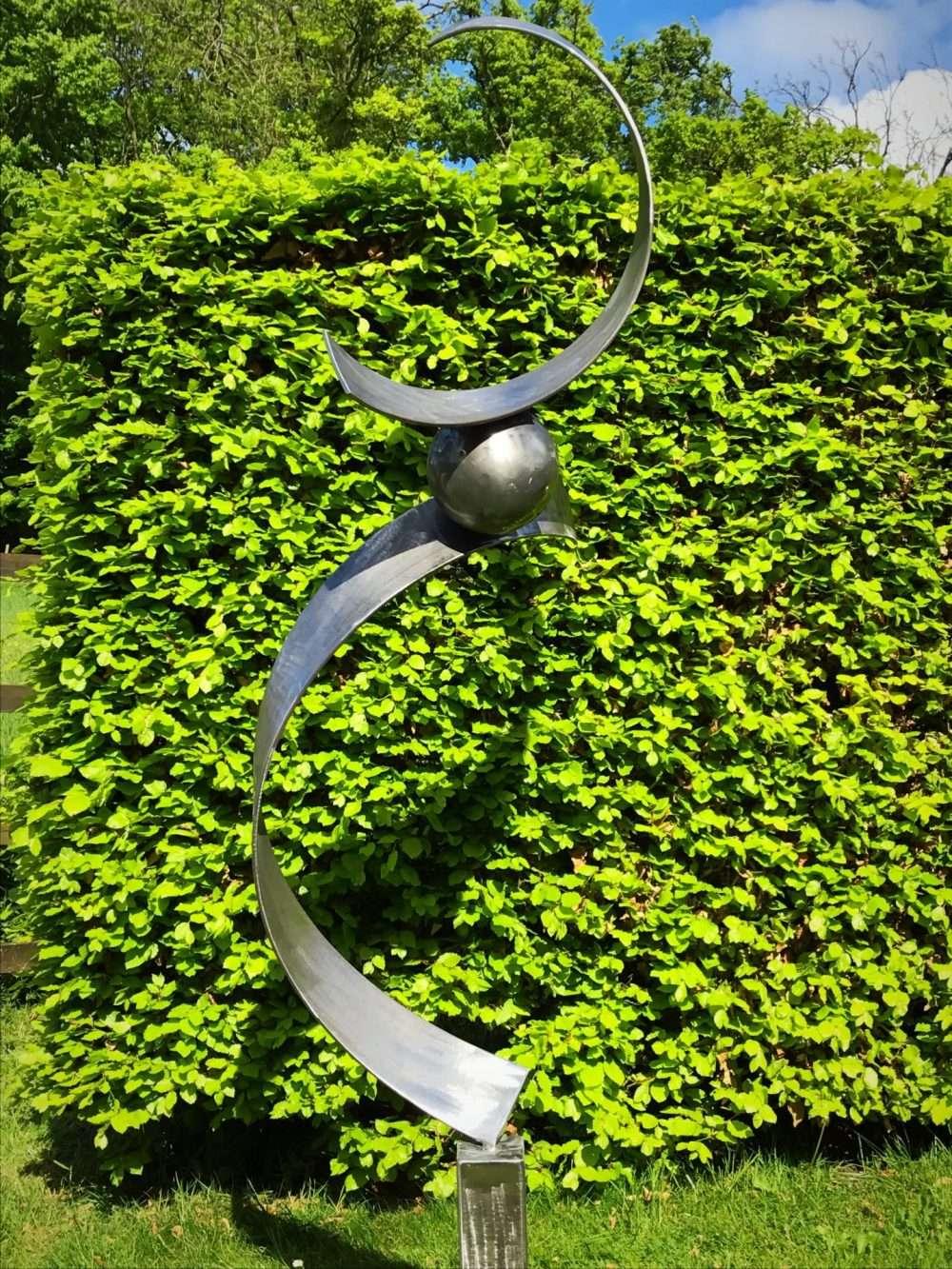 Spiral Abstract Sculpture