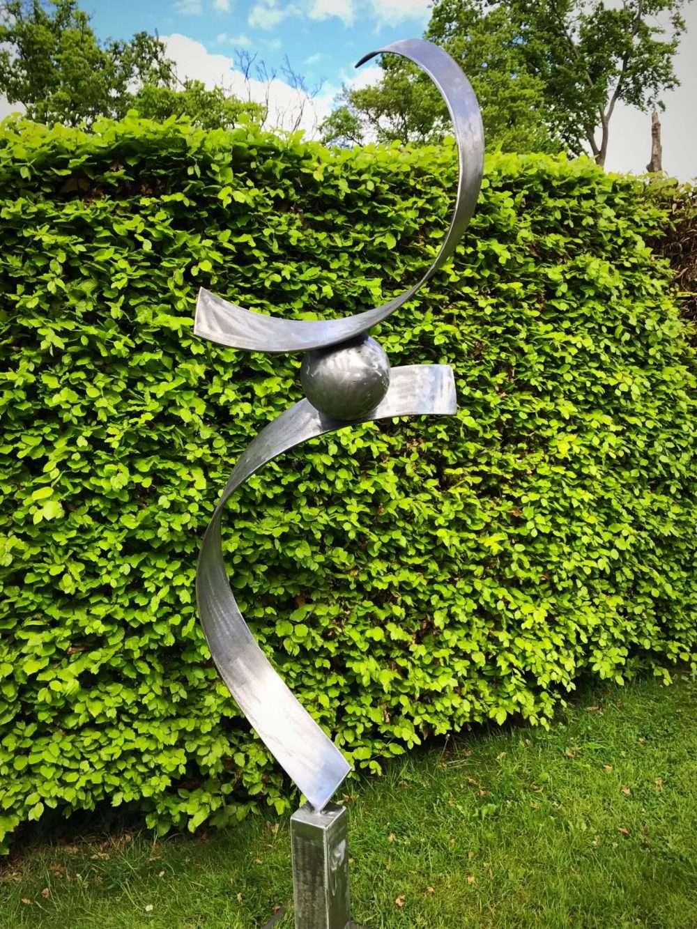 Spiral Abstract Sculpture Design