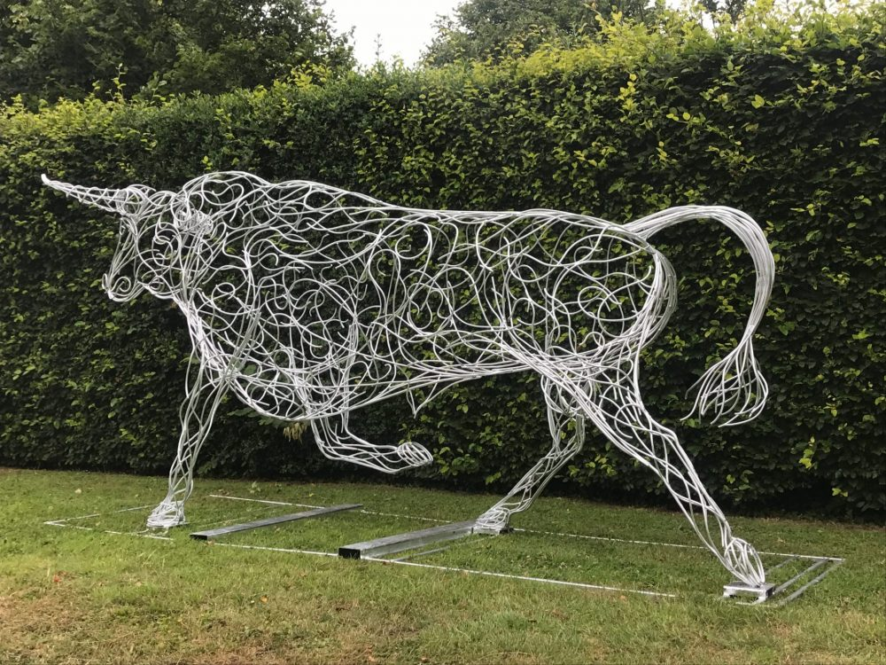 Tail Of Bull Sculpture