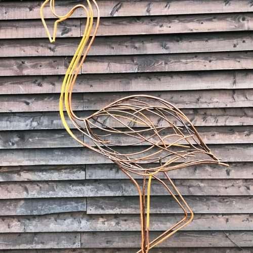 Tall Heron Sculpture