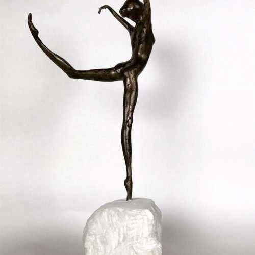 Coryphée 2017 Bronze Sculpture back