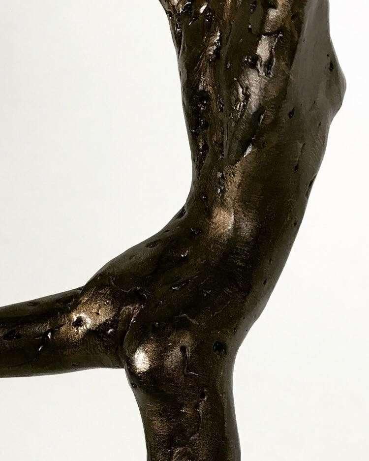 Coryphée 2017 Bronze Sculpture close up