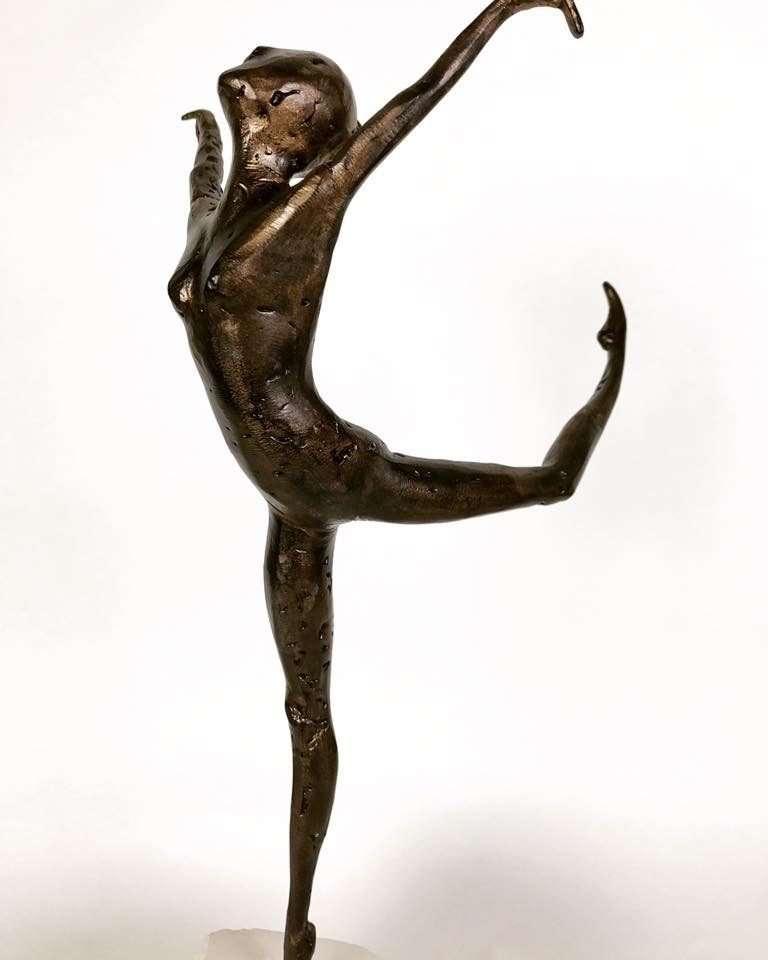 Coryphée 2017 Bronze Sculpture dancing