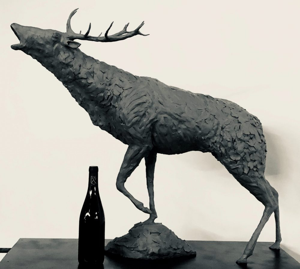 Stag Sculpture Whole body